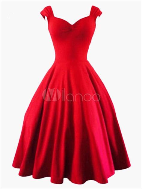 swing kleider vintage vintage dresses retro dresses milanoo
