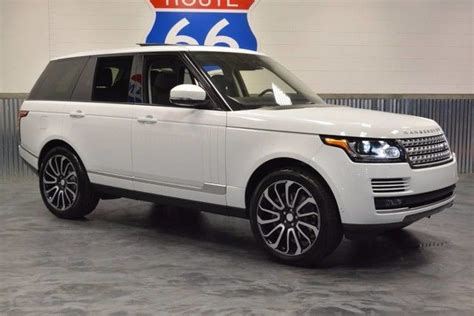 land rover supercharged white 2015 land rover range rover supercharged 4wd pearl white