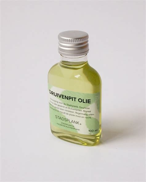 Grapeseed 100 Ml hout je stad grapeseed 100 ml protects your stadsplank