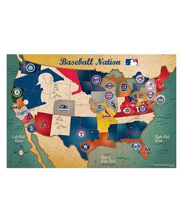 lift and learn usa map puzzle take a look at this mlb usa map puzzle by ppw toys on