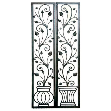 rod iron wall home decor 15 best images about wrought iron wall decor on