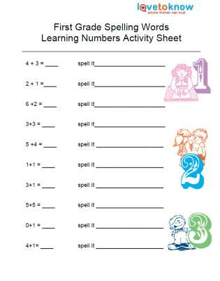 1st Grade Spelling Worksheets by Free Grade Spelling Worksheets