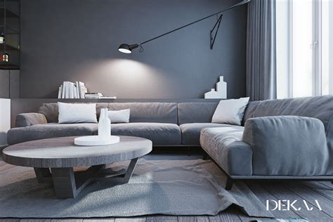 grey home interiors white grey interior design in the modern minimalist style