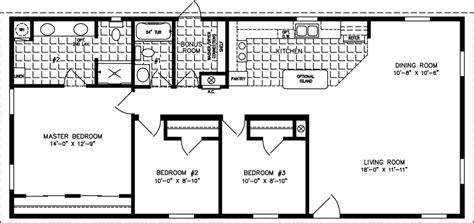 home floor plans 1200 sq ft 1200 to 1399 sq ft manufactured home floor plans