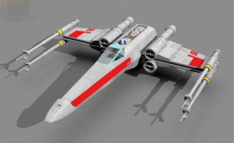 Promo Squadron X Wing Starfighter Special Set Murah free shipping paper model wars x wing x fighter airplane diy intellectual development