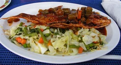 jamaican country kitchen brown stew fish recipe jamaican country style