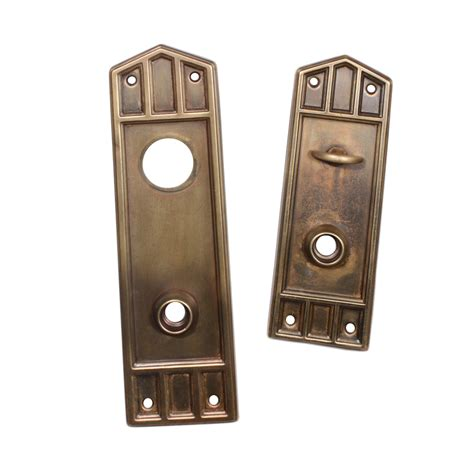 Antique Exterior Door Hardware with Handsome Antique Mission Entry Door Hardware Set Early 1900 S Ndks211 Rw For Sale Antiques