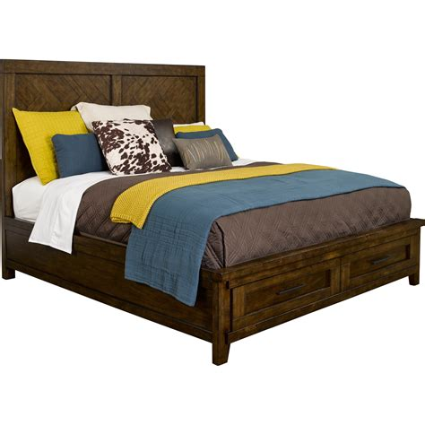 Broyhill Furniture Pieceworks Queen Panel Storage Bed With Broyhill Bed