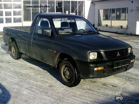 mitsubishi truck 2000 2000 mitsubishi gl l200 pick up truck air car