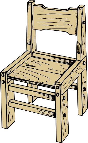 stuhl clipart wooden chair clip at clker vector clip