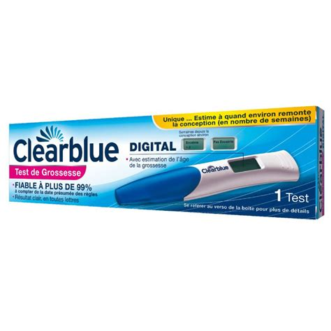 test clearblue digitale test clearblue digital prix