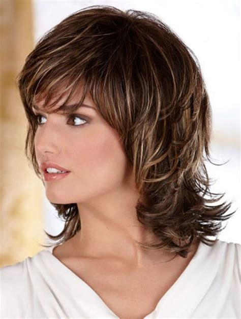 50ish womens layered hairstyles pretty shag hairstyle to impress everybody 9 shag
