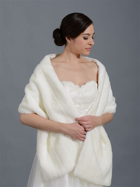 wedding wraps and shawls stunning faux fur bridal shwals collection weddings