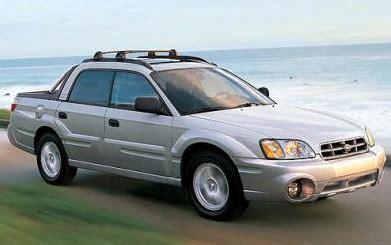 how to learn about cars 2006 subaru baja parental controls 2006 subaru baja overview cargurus