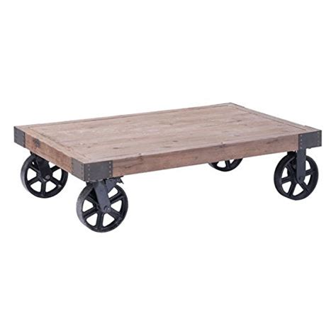 Railroad Cart Coffee Table Railroad Cart Coffee Tables