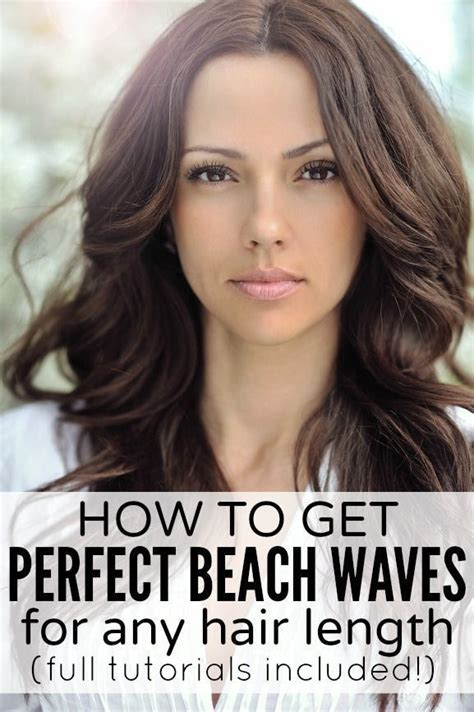 beach waves hair tutorial curling wand perfect victoria 25 best ideas about overnight beach waves on pinterest