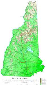 us map new hshire new hshire contour map