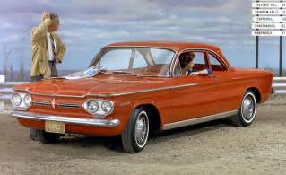in time 1960 cars chevrolet corvair
