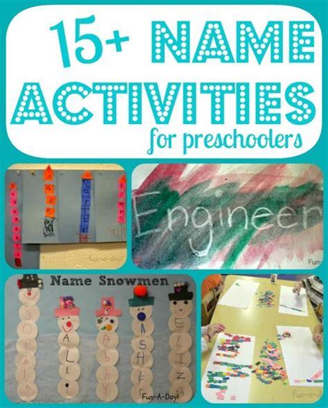kindergarten activities names fun name activities for preschool and kindergarten a