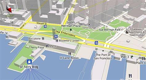 maps mobile in italiano maps mobile 5 0 in arrivo con grafica 3d