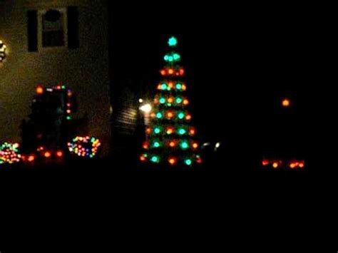 musical christmas trees with sychronized lights sle