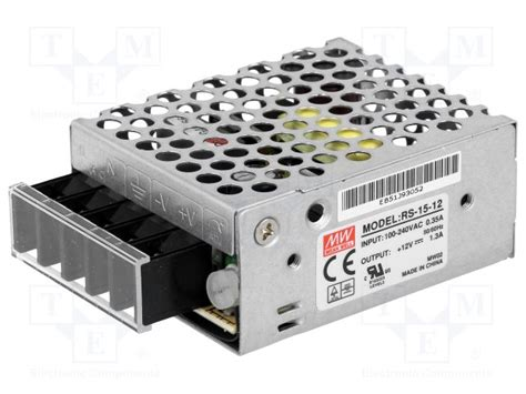 Power Supply Well Rs 15 12 rs 15 12 well alimentation 224 impulsions tme