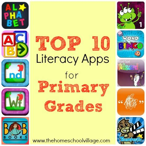 homeschool lesson planner app top 10 literacy apps for primary grades the homeschool