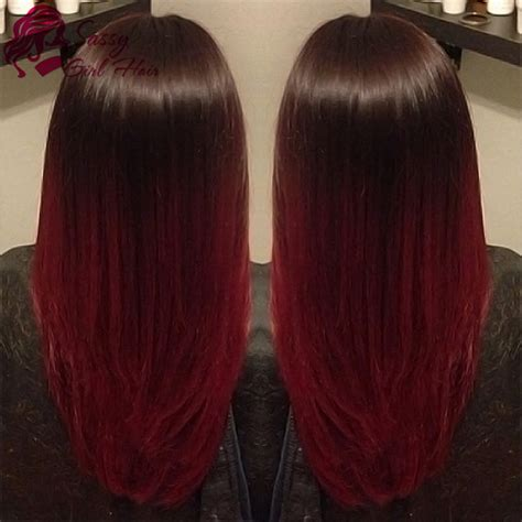 ombre weave hair st red ombre sew in www pixshark com images galleries