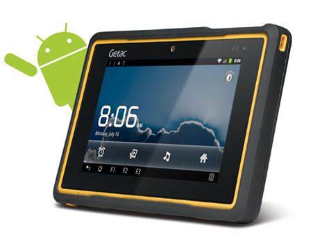 rugged android getac reveals rugged z710 tablet notebookcheck net news