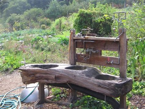 backyard sink wow outdoor sink off the grid pinterest outdoor