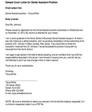 cover letter dentist position cover letters for dental assistant resume cv cover letter