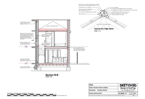 section through a building exle house plans 3 bedroom end of terrace built to