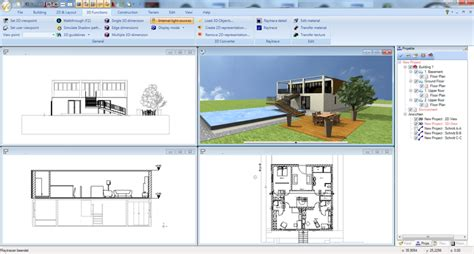 free architect drawing software ashoo 3d cad architecture 5