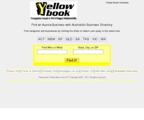 Yellowbook Search Yellowbook Au Yellow Book Business Directory Australia