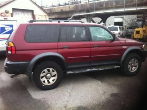 sell used 2002 mitsubishi montero sport in wantagh new