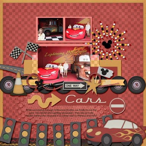 scrapbook layout new car 17 best images about cars cricut ideas on pinterest