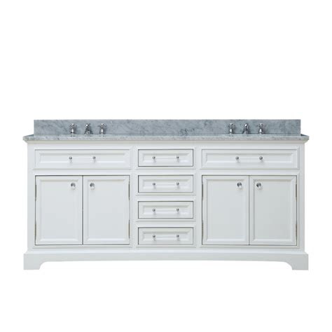 72 in double bathroom vanities 72 inch double sink bathroom vanity in pure white uvwcderby72w