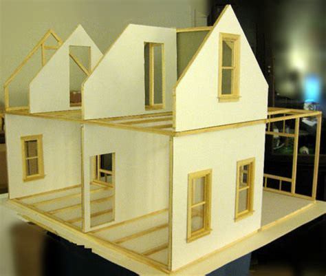 build  dollhouse  woodworking