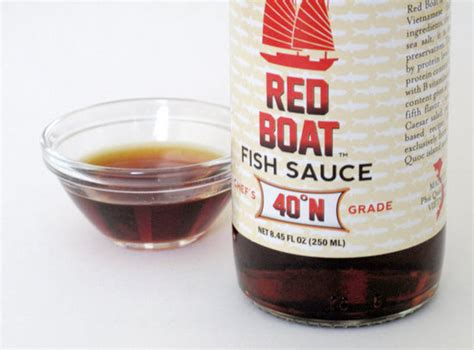 ingredients of red boat fish sauce garlicky arugula pasta recipe popsugar food