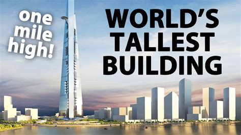To 1 Mile by World S Tallest Building Jeddah Tower One Mile High