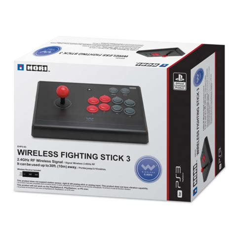 Controller Stik Stick Wireless Ps 3 Playstation 3 Murah ps3 wireless fighting stick 3 accessories zavvi