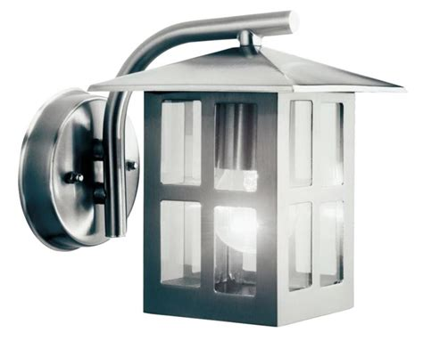 Lights By B Q Vermont Outdoor Wall Light In Stainless B Q Outdoor Lights
