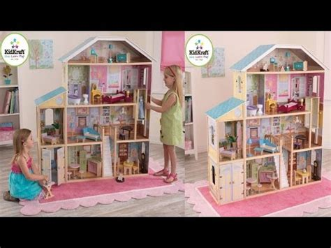 dollhouse 34 pieces kidkraft majestic mansion dollhouse for your