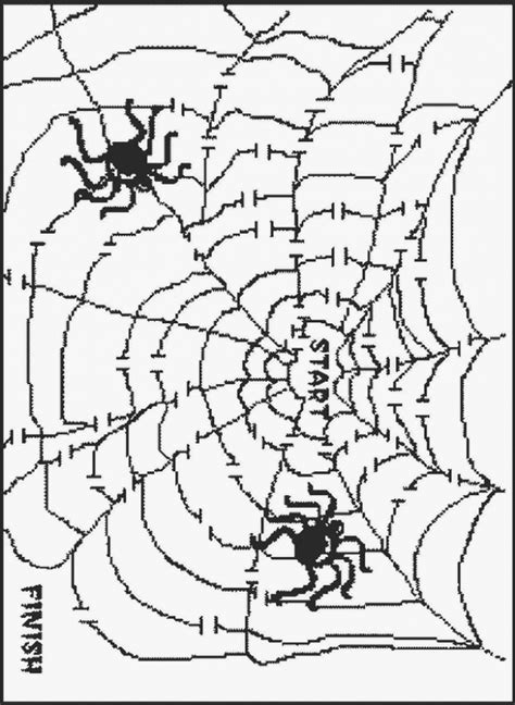halloween coloring pages mazes 8 medium halloween maze printable
