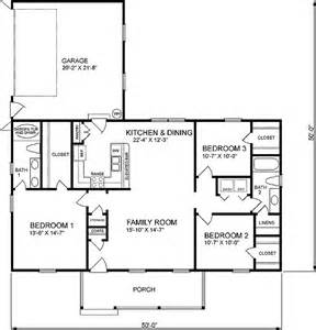 1400 Sq Ft House Plans by 1400 Square Feet 3 Bedrooms 2 Batrooms 2 Parking Space