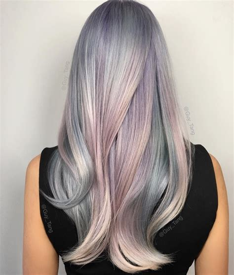 toffee hair color ideas 16 cotton candy hair color ideas so sweet you might get a