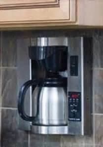 small under cabinet coffee maker mountable coffee maker foter
