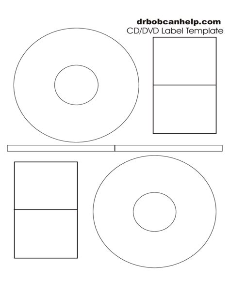 cd dvd label template free download