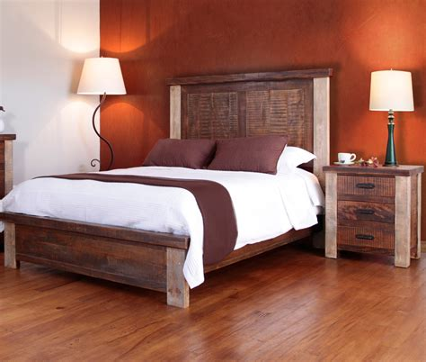 western style bedroom furniture home furnishings for cabin interiors bedroom collection