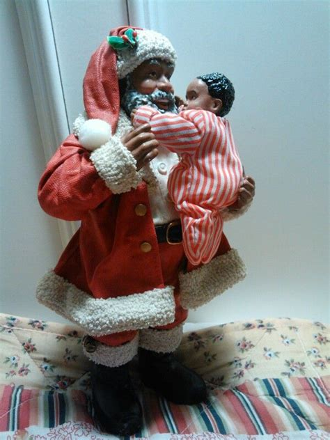 ksa collectibles  gift  heaven black santa claus pinterest heavens  gifts